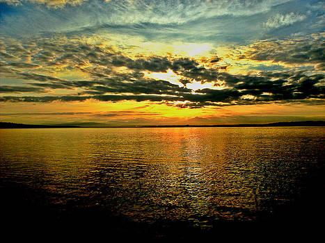 Kevin D Davis - Puget Sound Sunrise