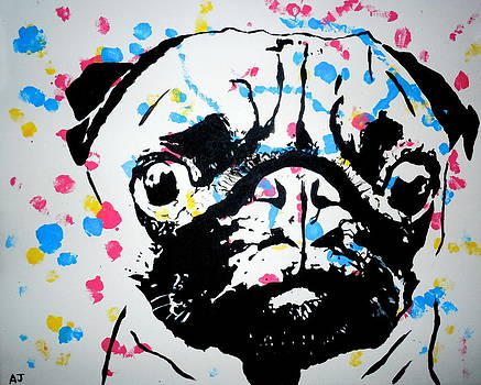 Pugs and Kisses by Austin James