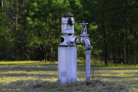 Pump from the Past by Good I Art Photography