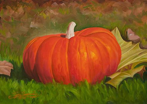 Pumpkin in Cad Orange by Gary  Hernandez