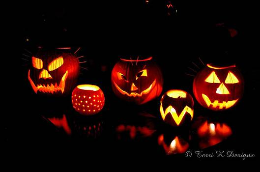 Pumpkin Party by Terri K Designs