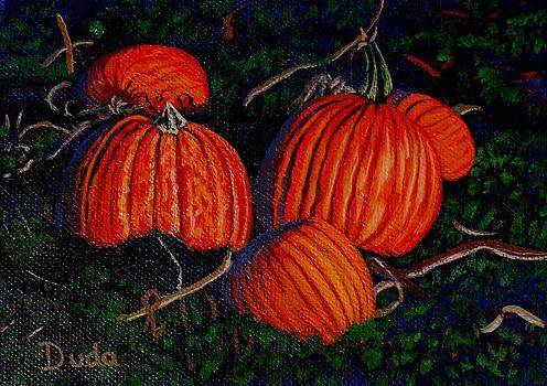 Pumpkin Patch by Susan Duda