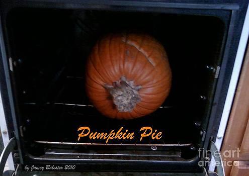 Jamey Balester - Pumpkin Pie