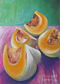 Pumpkin Quarters by Soma Mandal Datta