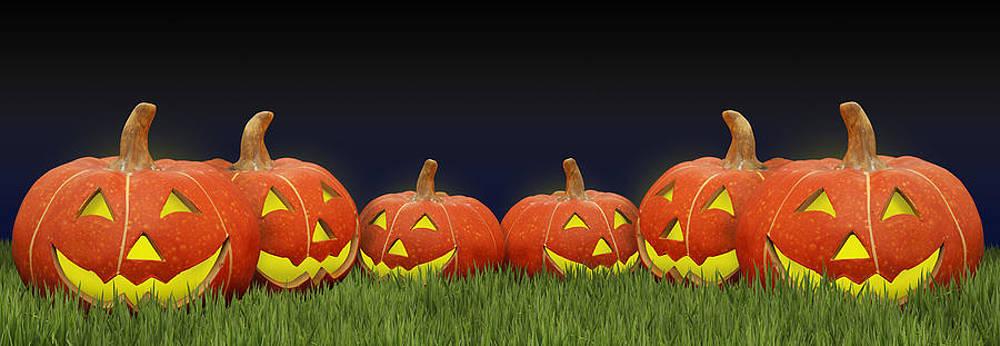 Pumpkins by Gillian Dernie