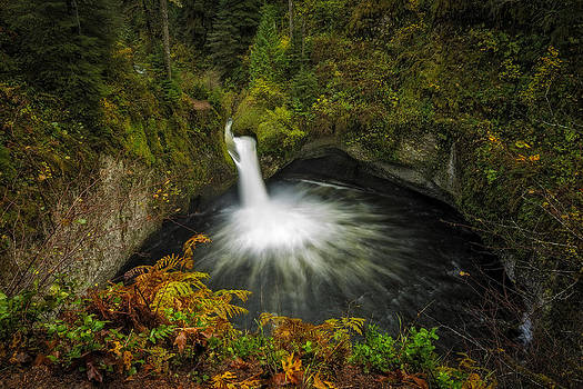 Punchbowl Falls by Hawaii  Fine Art Photography