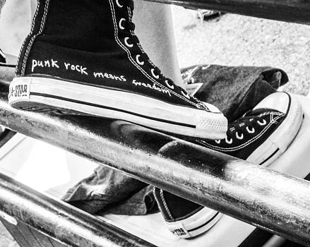 Punk Rock Shoes by Lisa Cortez