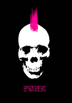 Punk Skull by Viv Griffiths