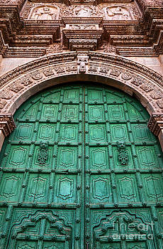 James Brunker - Puno Cathedral Door 1