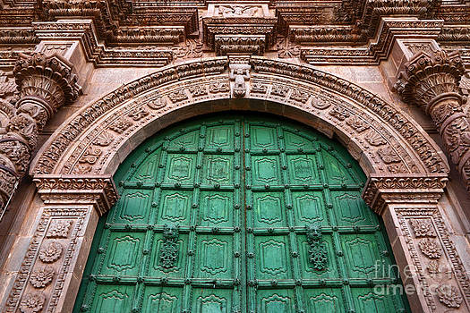James Brunker - Puno Cathedral Door 2