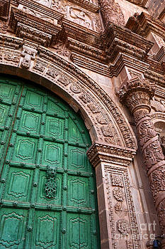 James Brunker - Puno Cathedral Door 3
