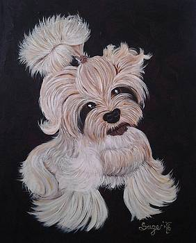 Puppy Love by Edwina Sage Washington