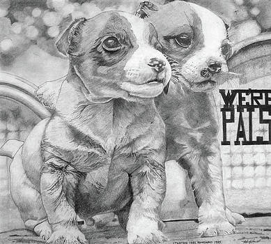Puppy Pals by Andre Ajibade