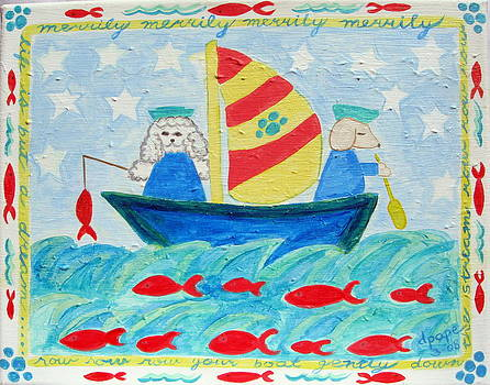 Puppy Sailors by Diane Pape