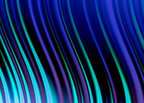 Hakon Soreide - Purple and Turquoise Waves