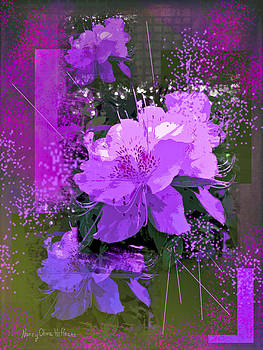 Purple Azalea by Nancy Olivia Hoffmann