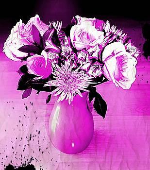 Purple Bouquet  by Rita Tortorelli