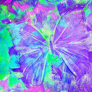 Purple Butterfly by Jan Marvin