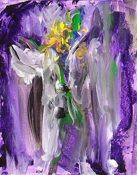 Purple Clown by Tonya Schultz