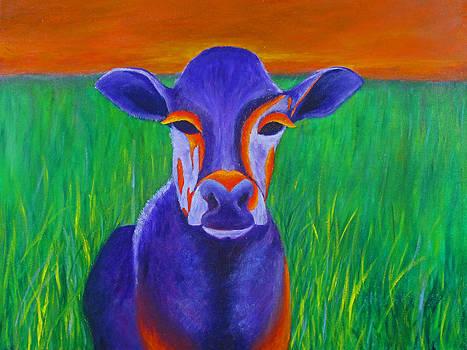 Purple Cow by Roseann Gilmore