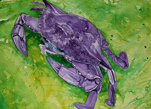 Purple Crab by Heather Torres