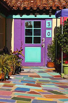 Art Block Collections - Purple Door