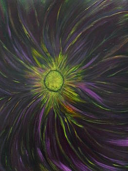 Purple Explosion by Ginny Youngblood