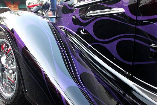 Howard Markel - Purple Flames