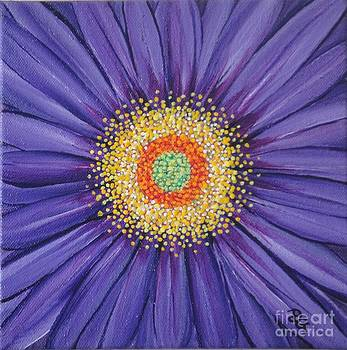Purple Fusion by Deborah Glasgow
