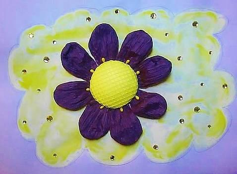 Purple Happiness by Karen Jensen