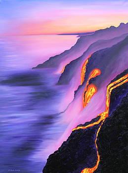 Lava Flow by Kristine Mueller Griffith