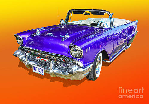 Purple Hot Rod by Anthony Sell