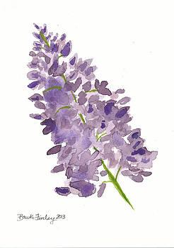 Purple Lilac by Brooke Finley