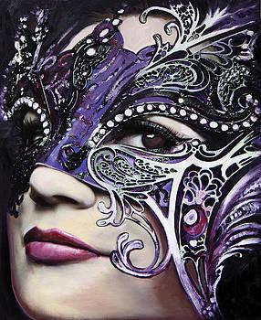 Purple Mask by Francoise Lynch