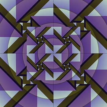 Purple Maze by Richard Newman