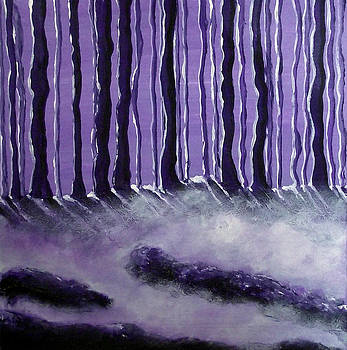 Purple Mist by Sandy Wager