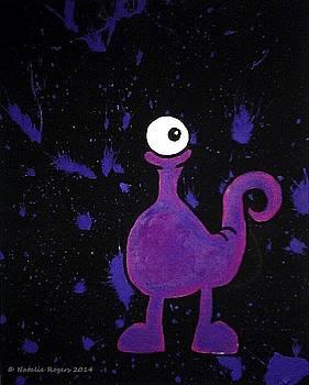 Purple Monster by Natalie Rogers