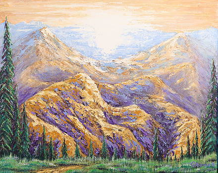 Purple Mountain Majesty by Gary Rowell