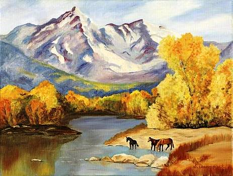 Purple Mountain by Sara Davenport