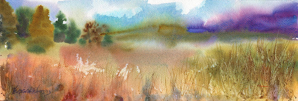 Purple Mountain by Yevgenia Watts