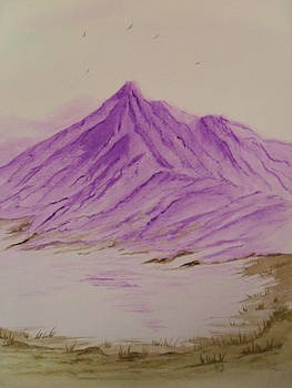 Purple Mountains by Ginny Youngblood