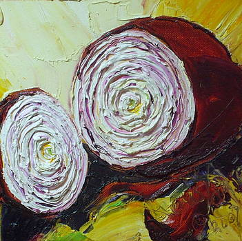 Purple Onion by Paris Wyatt Llanso