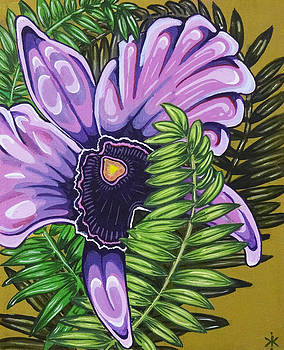 Purple Orchid by Thome Designs
