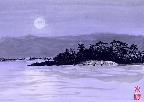 Purple Pagoda by Terri Harris