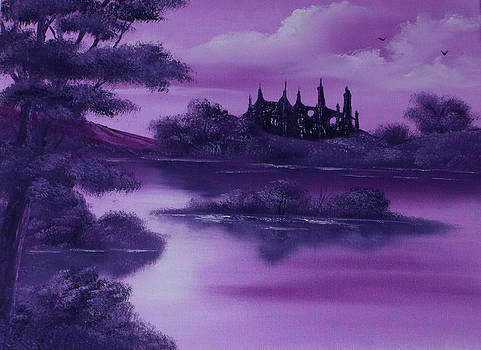 Purple Palace For Sale by Cynthia Adams