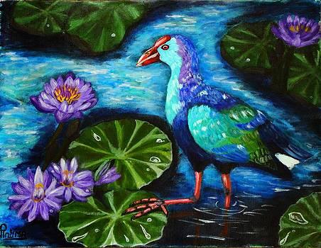 Purple passion by Greeshma Manari
