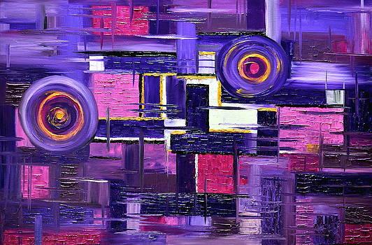 Purple passion by Mariana Stauffer