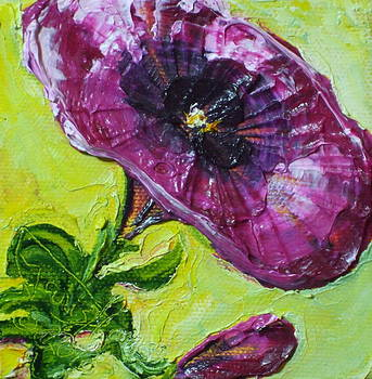 Purple Petunia by Paris Wyatt Llanso