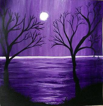 Purple Rain by Sandy Wager