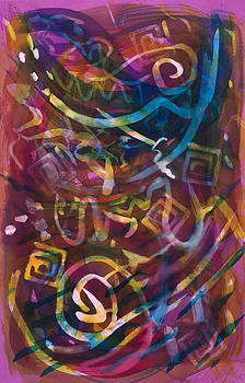 Purple Rhapsody by Susan Richards